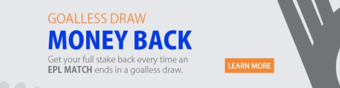Nairabet Goalless Draw Money Back